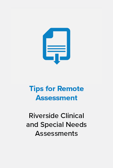 Remote Assessment Tips